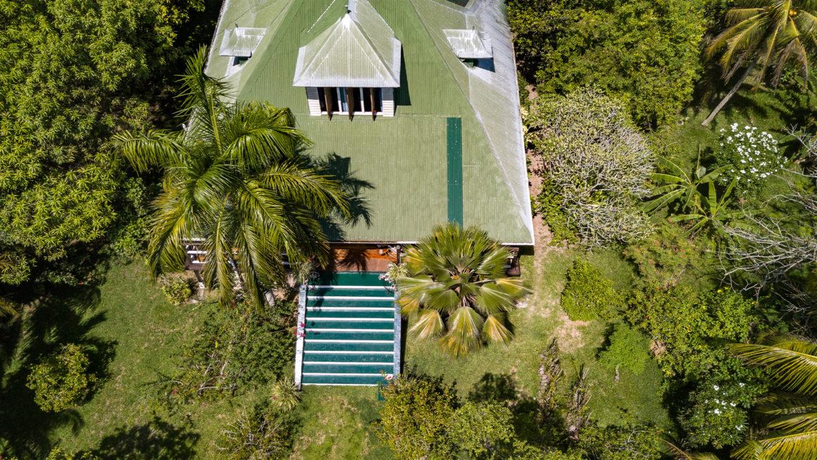 Un giardino a Praslin