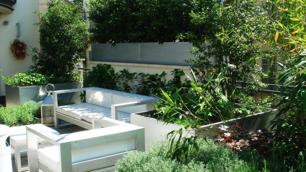 Il giardino sul terrazzo